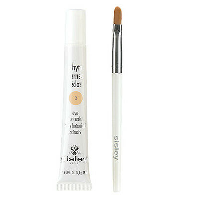 1 PC Sisley Phyto Cernes Eclat Eye Concealer with Botanical Extracts +Brush 15ml