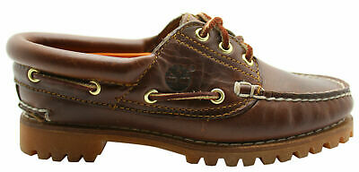 Timberland Womens Heritage Noreen 3 Eye Handsewn Boat Shoes Leather 51304 D29