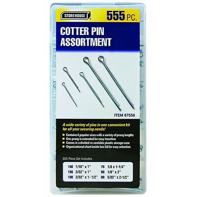 555 Piece Cotter Pin Storehouse