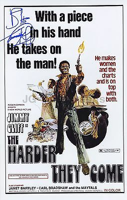 """Jimmy Cliff - Reggae Legend - """"The Harder They Come"""" - Autographed 11x17 Photo"""