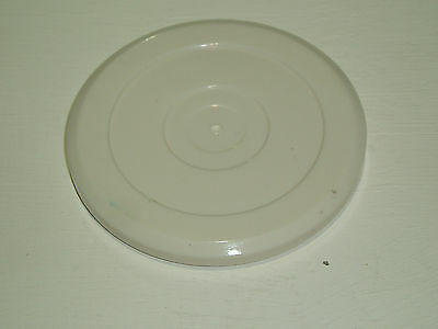 2 x WHITE AIR HOCKEY PUCKS IN SIZES 70 mm AND 80 mm