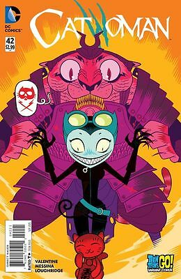 Catwoman #42 (NM)`15 Valentine/ Messina  (Cover B)
