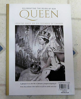 CELEBRATING The REIGN Of Our QUEEN 138 Page Special RARE NEVER SEEN Photos NEW