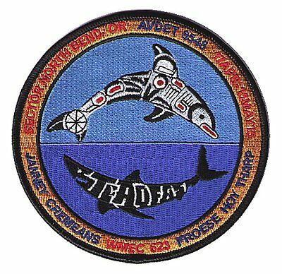 AVDET 6548 North Bend Oregon CGC STEADFAST W5477 USCG Coast Guard patch