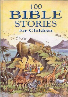 100 Bible Stories for Children by Retold by Jackie Andrews Hardback Book The