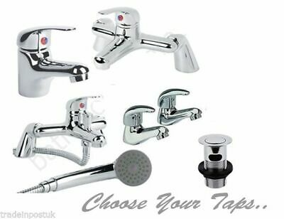 Regal Bathroom Tap Pack Set Bath Filler Shower Mixer Mono Basin Taps