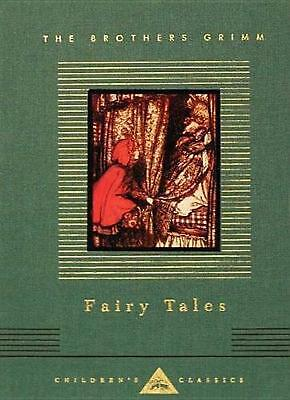 Fairy Tales by Jacob Ludwig Carl Grimm (English) Hardcover Book Free Shipping!