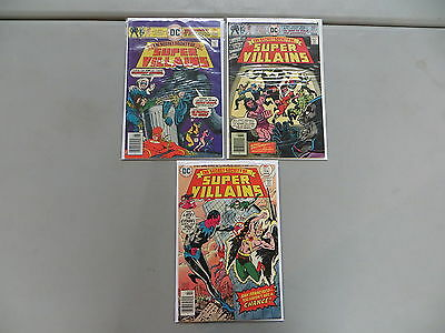 Secret Society Of Super Villains 3 Issue Comic Lot 1 3 5 Dc