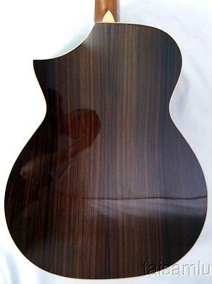 Dali solid spruce top Indian Rosewood Auditorium Cutaway Acoustic Guitar,GD3