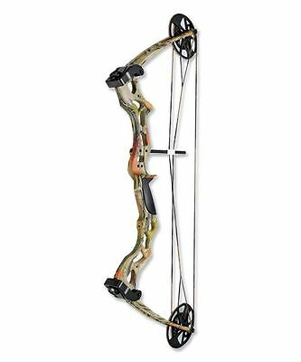 Stealth Hunter Camo Compound Archery 75lb Bow & Arrows Adult