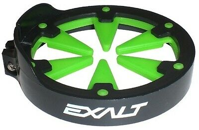 Exalt Paintball Universal SpeedFeed Feedgate - Black with Lime [BH5]