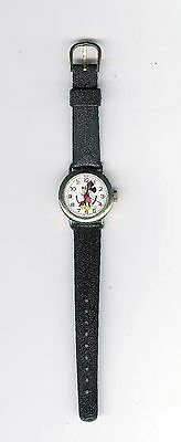 Bradley 112S Walt Disney Mickey Mouse Wind-Up Watch Hong Kong FREE Shipping USA