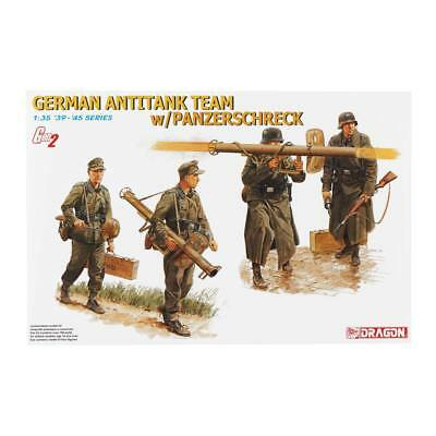 NEW Dragon Models 1/35 German Antitank Team w/Panzerschreck 6374