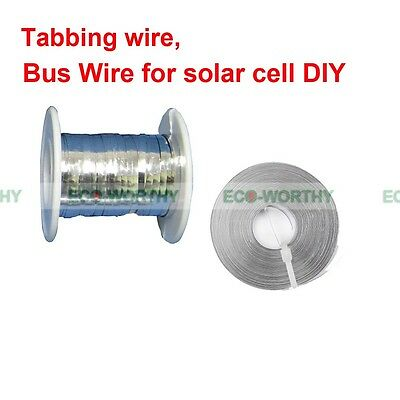 Tabbing Wire & Bus Wire for DIY Solar Panel Cell Soldering Tools Width 2mm & 5mm