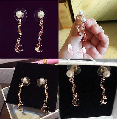 Anime Sailor Moon 20th Anniversary Earing Earrings Ear Studs Gift New with Box