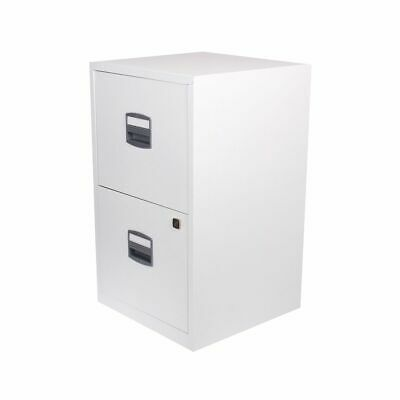 Bisley Metal Filing Cabinet 2 Drawer A4