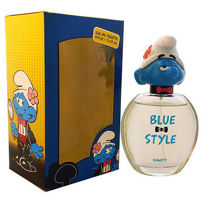 The Smurfs Blue Style Vanity by First American Brands for Kids - 3.4oz EDT Spray