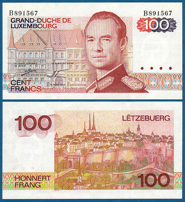 LUXEMBURG / LUXEMBOURG 100 Francs 1980  UNC  P.57