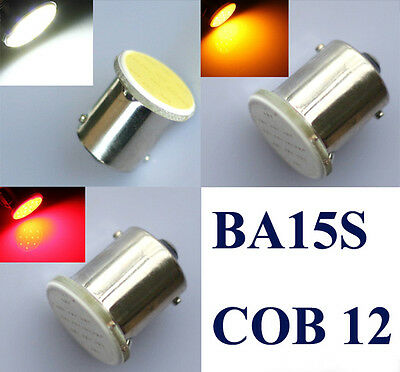 2/4x 1156 BA15S 382 P21W COB LED SMD Car Rear Turn Tail Signal Light Lamp Bulb