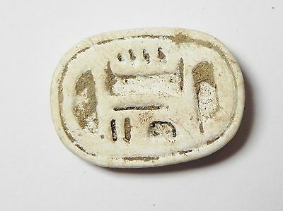 Zurqieh -Af18- Ancient Egypt, New Kingdom. Steatite Scarab. 1550 - 1077 B.c