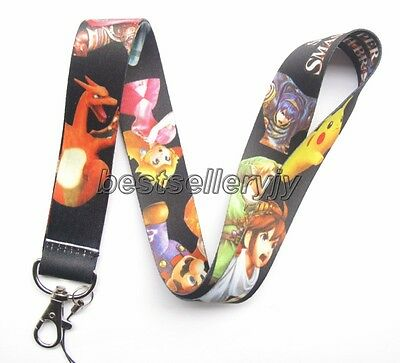 Lot Japanese anime Neck Strap Lanyards Mobile Phone Key Chain Party Gifts N-33