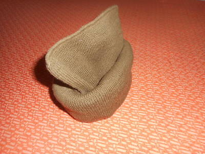 BRITISH ARMY: COMMANDO WOOL CAP or SCARF COMFORTER  WWII