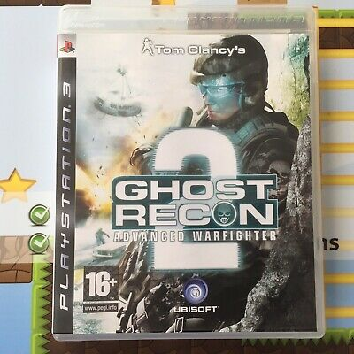 Ghost Recon 2 - Advanced Warfighter - Tom Clancy's - Sony Ps3 Game - New