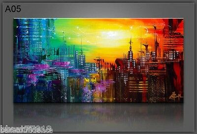 Oil painting on canvas Modern Beautiful Abstract Wall Art Home Decor