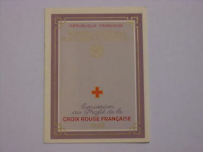 Carnet Croix Rouge N** luxe - 1958