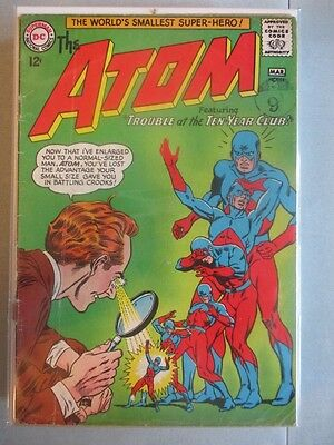 Atom (1962-1968) #11 GD/VG (Cover Detached)