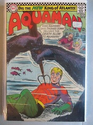Aquaman Vol. 1 (1962-1978) #28 FN/VF (Sticker on Cover)
