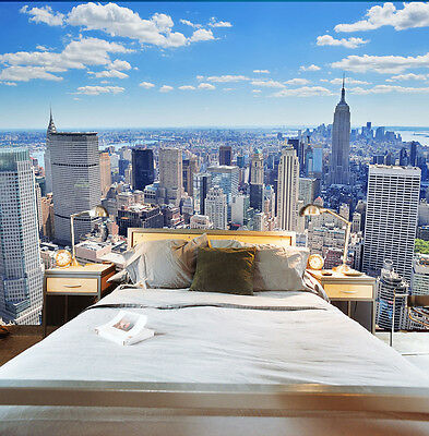 3D New York 1 Wall Paper Wall Print Decal Wall Deco Indoor wall Murals Wall