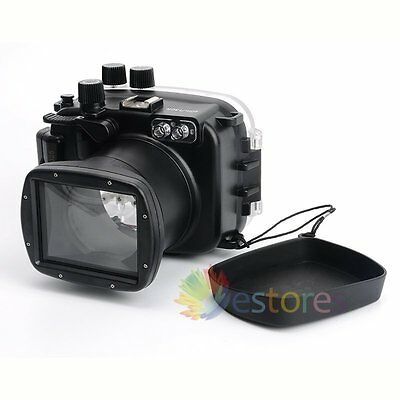 Meikon 40M Waterproof Diving Camera Housing Case Cover For Canon EOS M3 18-55mm