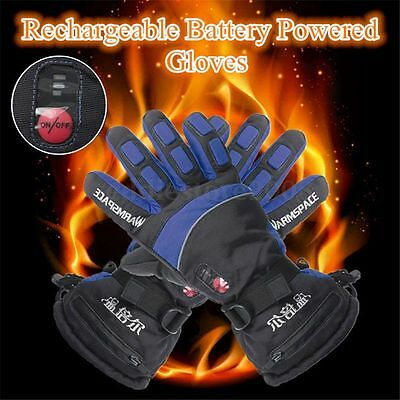 2 Colors Waterproof Rechargeable Battery Powered Duplex Heated Winter Gloves