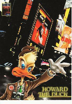 Fleer Ultra Marvel Premium QFX Howard the Duck Promo Card 1997