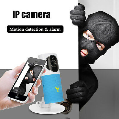 IP Wireless WIFI Night Vision Camera Baby Monitor 2 way Talk Audio Security+Case