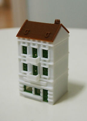 Outland Models Railway Miniature Building City House Style B Stackable Z Gauge