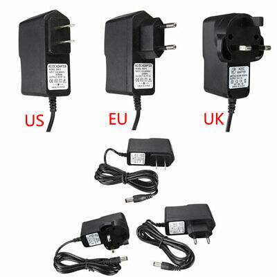 Global Universal US/UK/EU Plug DC 3V 1A Power Supply Adapter 100-240 AC Charger