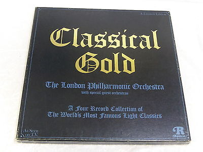 Classical Gold The London Philharmonic Orchestra Record 1976 vintage collectible