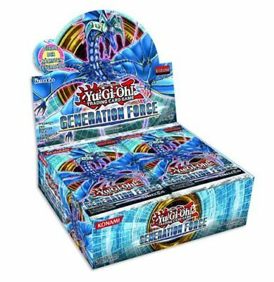 Yu-Gi-Oh! - Generation Force - 1. Auflage - Display mit 24 Booster
