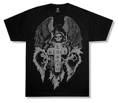 Black Label Society Angel Of Doom Over Sunset Black T Shirt New Official BLS