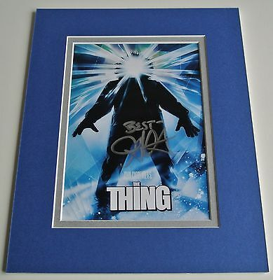 John Carpenter Signed Autograph 10x8 photo mount display The Thing Film & COA