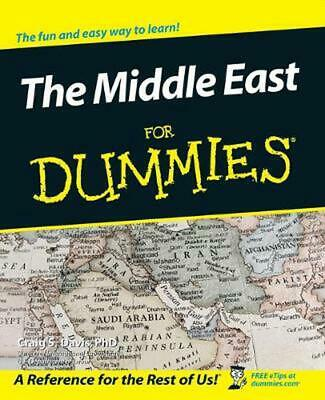 The Middle East for Dummies by Craig S. Davis (English) Paperback Book Free Ship