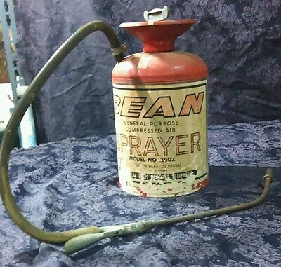 vintage JOHN BEAN GENERAL PURPOSE COMPRESSED AIR BEAN SPRAYER MODEL~2002 ANTIQUE