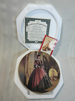 "Dressing Gone With The Wind ""The Plaid Business Attire""  Collector Plate #7"