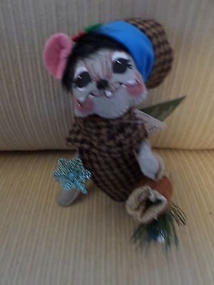 """Annalee Fall Thanksgiving Christmas """"Woodland Mouse"""" NWT 2015"""