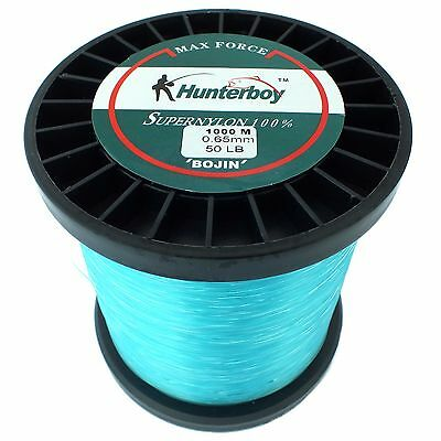 Hunterboy Maxforce Super Nylon Fishing Line 1000m 50lb Game Fishing 24kg Mono