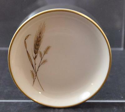 Vintage Fine Arts China Golden Harvest Wheat Coaster Small Plate 3 7/8""