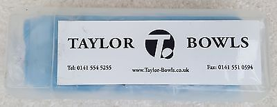 TAYLOR Bowls Blue Bowlers Synthetic Chamois In Plastic Case
