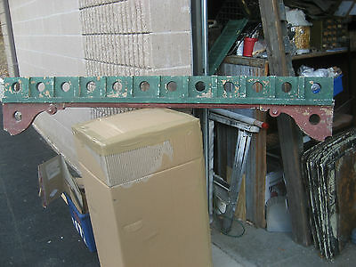 c1880 VICTORIAN gingerbread PORCH fretwork SPANDREL w BRACKETS 76 x 14""